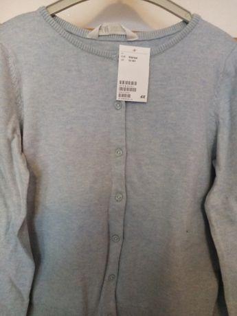 jasny niebieski sweterek H&M roz. 158-164 nowy
