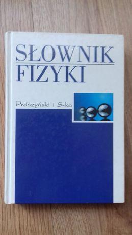 Słownik fizyki sztywna oprawa