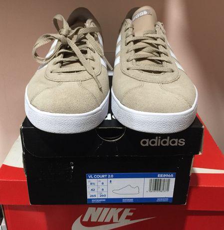 Новые кроссовки Adidas vl court 2.0 42 размер оригинал с европы взуття