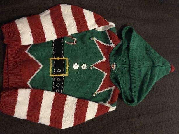 Новорічний светр на 3-4 роки
