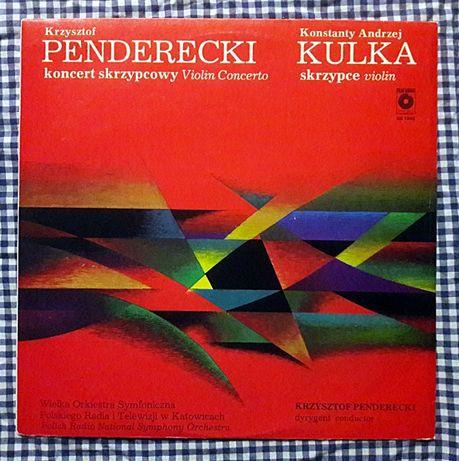 Krzysztof Penderecki- Koncert Skrzypcowy MINT-1981