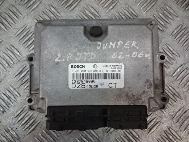 Citroen Jumper 2,8jtd 2,8 jtd komputer 02-06