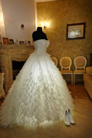 """Очаровательное свадебное платье - """"Лебедь"""""""