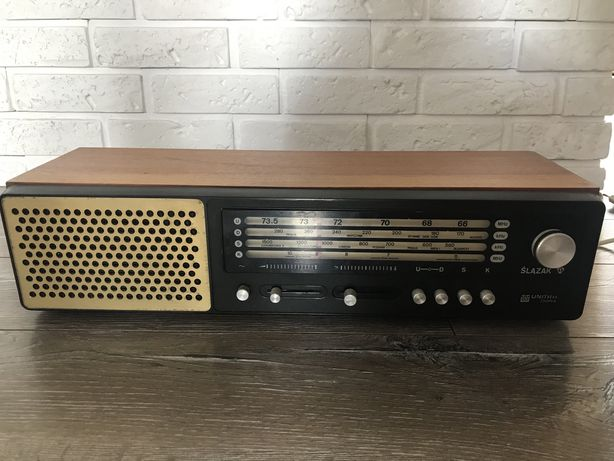 Radio Unitra Diora Ślązak sprawne