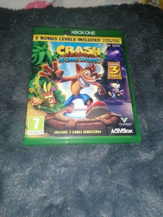 Crash Bandicoot N. Sane Trilogy Sosnowiec - image 1