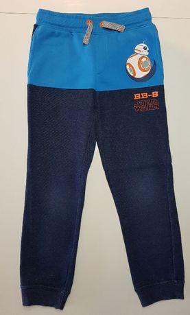 Spodnie jeansowe, dresowe, ocieplane Coccodrillo, C&A rozmiar 134