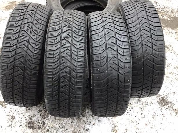 Pirelli 185/65r15 4 шт зима резина шины б/у склад