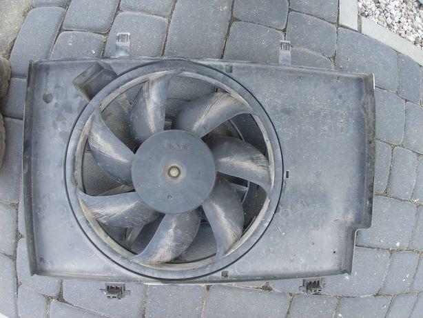 Wentylator klimatyzacji chłodnicy wiatrak Ford Fiesta 1.25 ben mk7