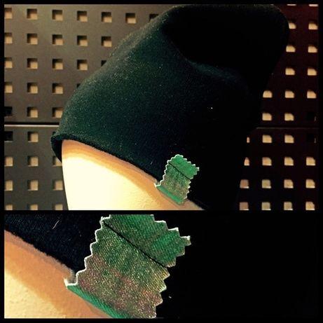 Dzianinowa czapka beanie czarna