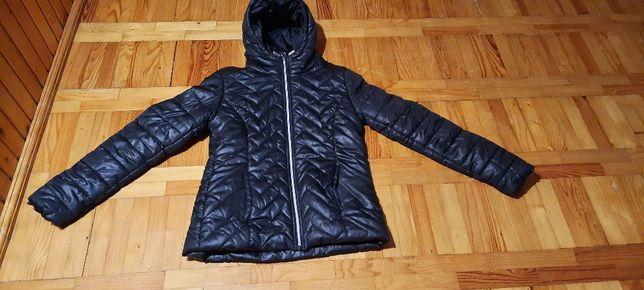 kurtka zimowa kolor czarny