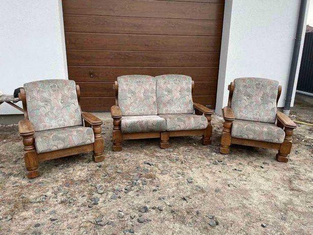 "Гарнитур диван два кресла "" Pochette"" Деревянный каркас (100803)"