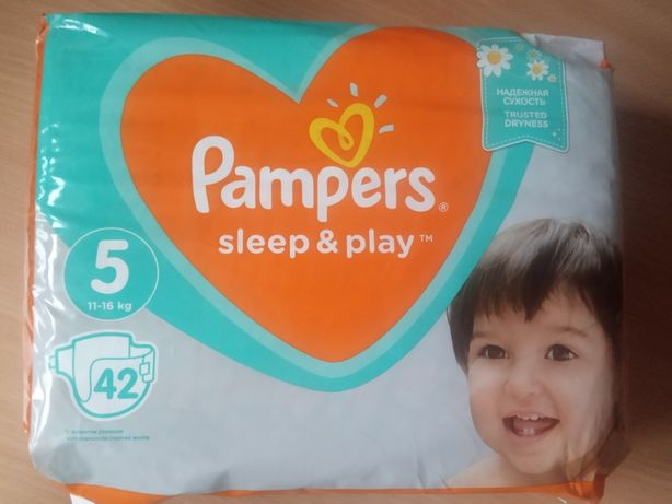 Супер цена! Подгузники Pampers Sleep & Play 5.