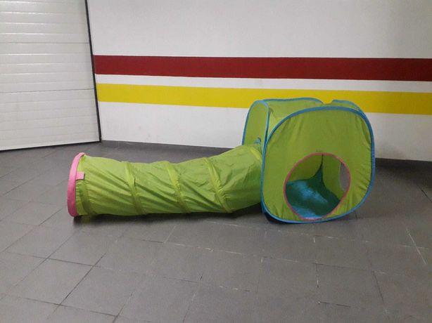 Tenda e tunel de Ikea