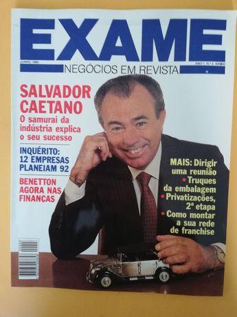 Revista Exame - Salvador Caetano 1989