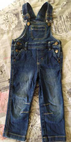 Джинсовый комбинезон, джинсы, штаны