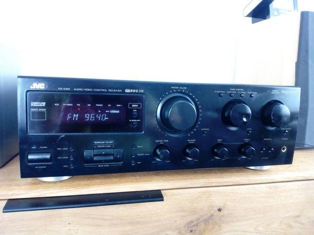 Amplituner / wzmacniacz JVC RX 616 r,moc zaklęta w  tranzystorach!
