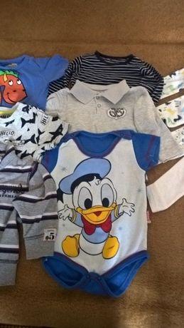 body, bluzeczki, bluza - ubranka chłopięce 74
