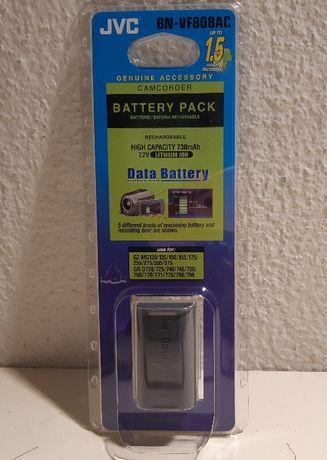 Bateria Nova Original JVC bn-vf808ac 730mAh Lítio
