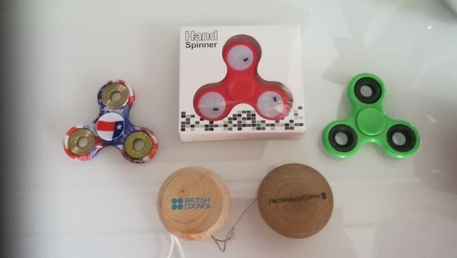 3x fidget spinner 2 jojo yoyo kostka Rubika