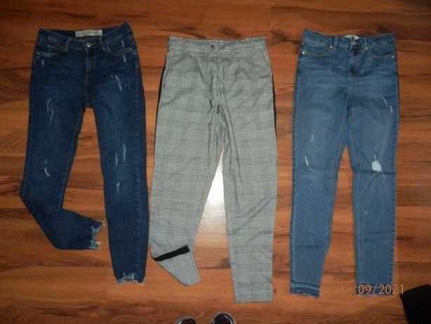 15 szt Zestaw spodni r 36 NOWE Mohito,Bershka,Zara,Sinsay
