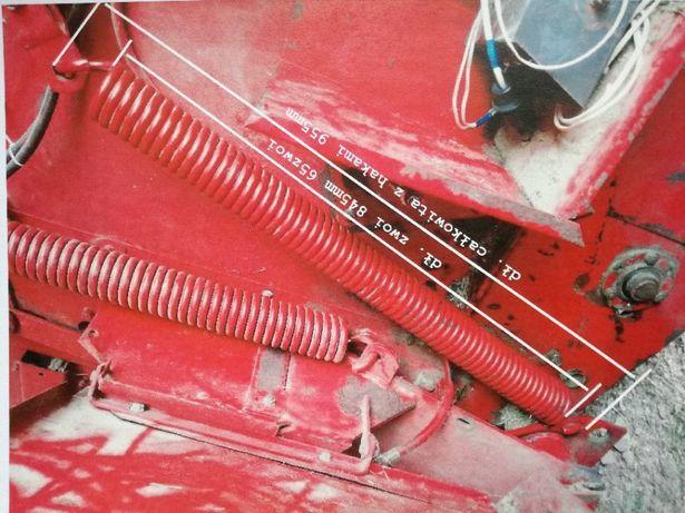 Sprężyna napinacza pasów prasa rolująca Hesston