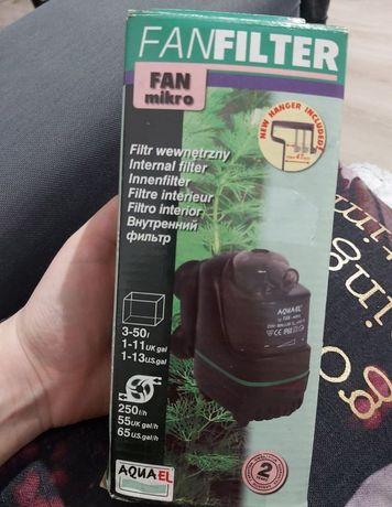 FANFILTER MIKRO filtr do akwarium 3-50l