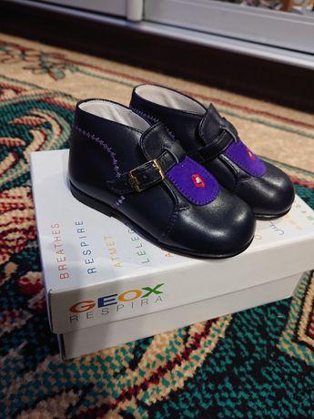 НОВЫЕ Итальянские ботиночки 21р кожа elefantino chicco ecco geox puma