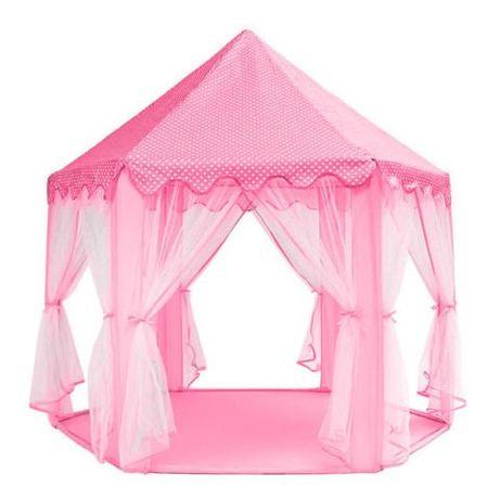 Детский домик игровой Намет для дітей Дитяча палатка вигвам РОЖЕВИЙ