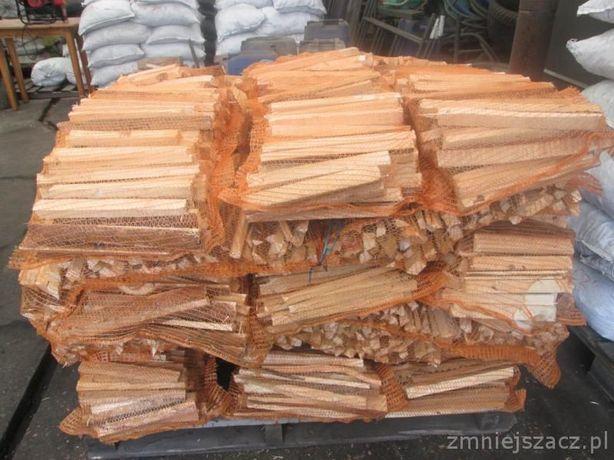 Drewno rozpałkowe - 15 zł worek.