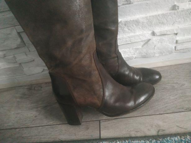 Cucite A Mano buty skórzane 40,5