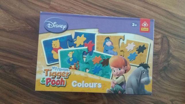 Układanka nauka kolorów Disney Kubuś puchatkiem trefl 3-5 lat