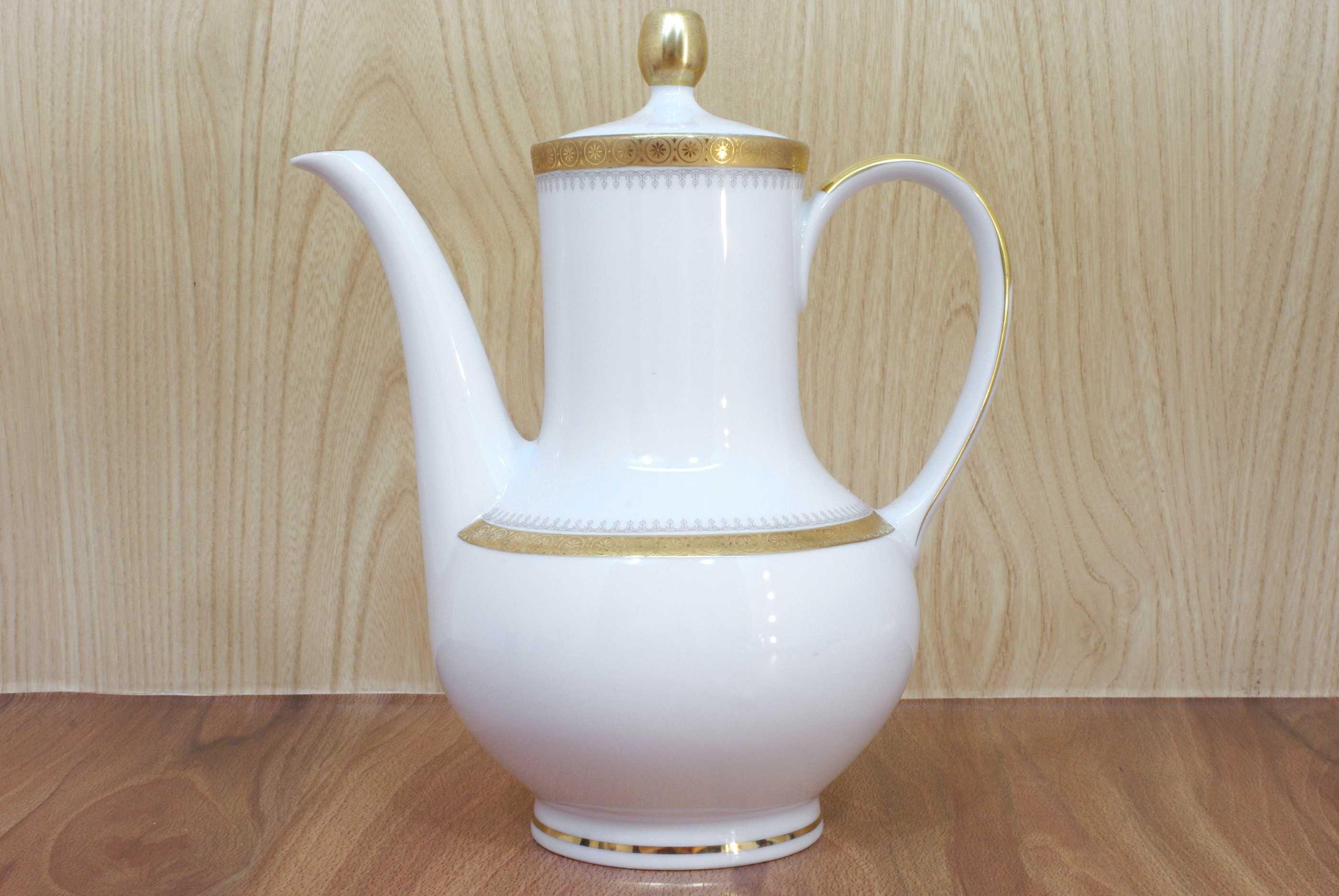 Винтажный немецкий чайник с позолотой Winterling Kirchenlamitz Bavaria