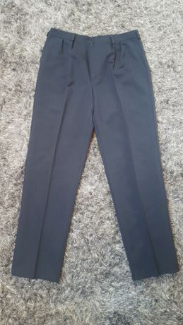 Spodnie garniturowe grafitowe