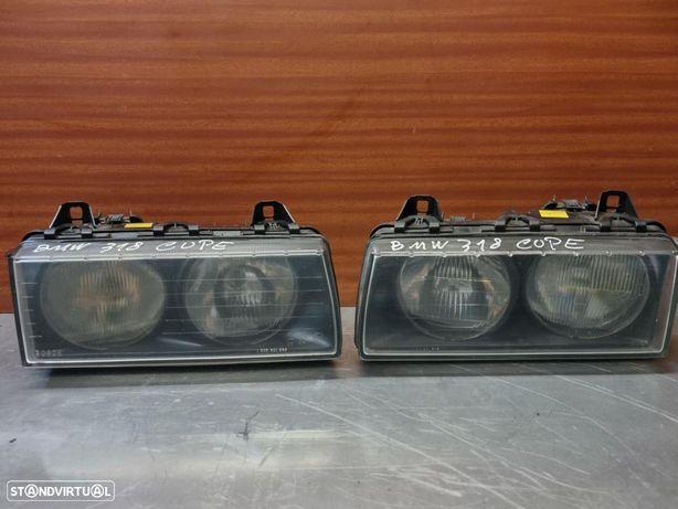 Óptica Farol Frente Bmw E36 Coupé c/Reg eléctrica