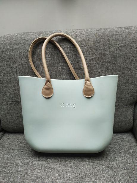 Jak nowa torebka O bag w kolorze mietowym