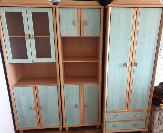 Meble 3 szafy, moduły, szafa