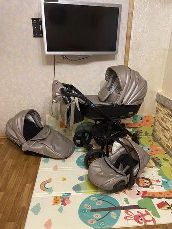 Нереальная колясочка от польского производителя MIMIkids 3в 1