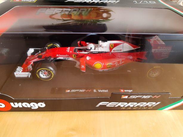 Модель S. Vettel (Феттель) Scuderia Ferrari SF16-H 2016 (1:18)