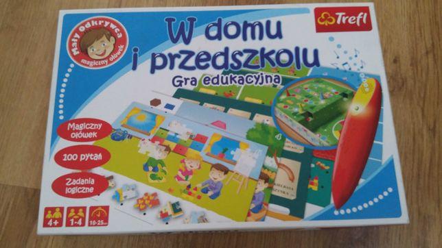 Gra edukacyjna w domu i przedszkolu trefl gry zabawka zabawki