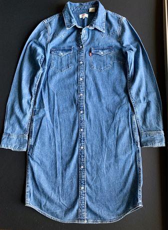 Camisa/vestido de ganga Levis Tam. Xs
