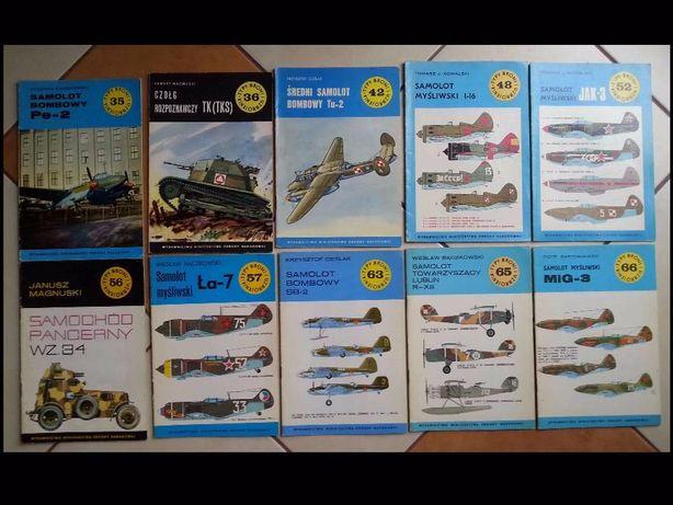 Typy broni i uzbrojenia TBiU 42 numery monografie wojenne