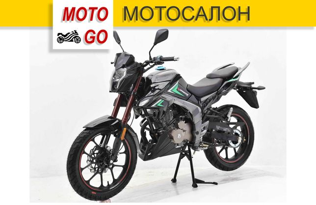 Новый Мотоцикл Viper ZS200A-1 Черный. Гарантия, Кредит! (МОТОСАЛОН)