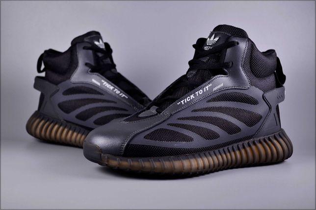 Зимние кроссовки Adidas Yeezy Gray, Зимние кроссовки