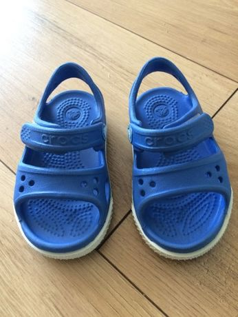 Sandałki dziecięce Crocs, niebieskie, C4 (rozmiar 19-20)