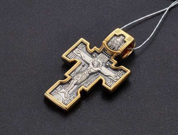 Крест серебро,Серебряный крест,Крест Акимов,Акимовский крест,серебро.
