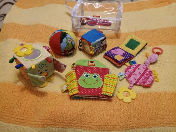 Фирменный набор развивающих тактильных игрушек ТМ Масик