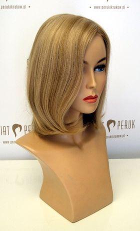 Peruka z włosów naturalnych półdługa Sandomierz