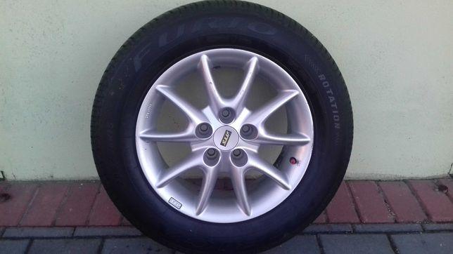 Koła kompetne alufelgi 15 do Peugeota lub Forda 5x108 opony Dębica90%