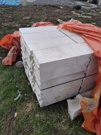 bloczki pustaki beton komórkowy całe 24cm termalica