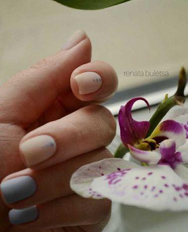 Манікюр, покриття нігтів гель-лаком, нарощення!